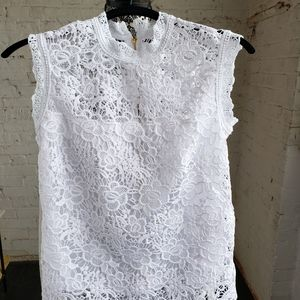Nanette Lepore  Spring Fling top in White